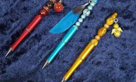 Pen met voorwerp